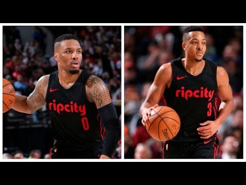 Damian Lillard and C.J. McCollum Combine for 58! To Beat The Warriors