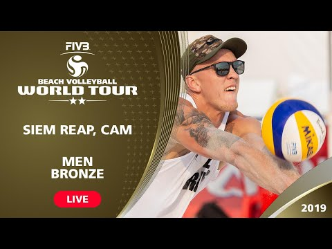 Siem Reap 2-Star 2019 - Bronze Medal Match - Beach Volleyball World Tour