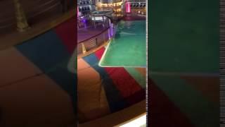 Wendy night on Royal Caribbean cruise ship
