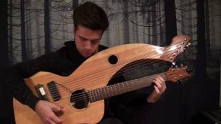 Planet Caravan - Black Sabbath - Harp Guitar Cover - Jamie Dupuis