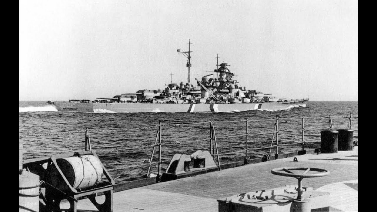 Operation Rheinübung - First and Last Voyage of the Bismarck