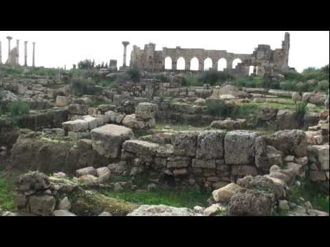Morocco Volubilis roman ruins