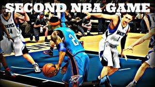 NBA 2K14 MyCareer | Microwave Jr's 2nd Career Game