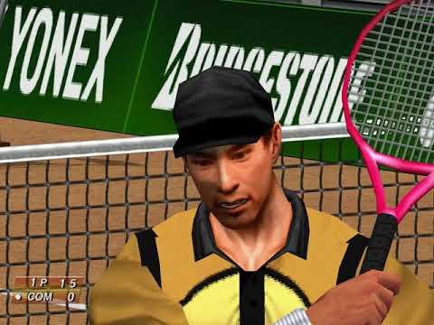Virtua Tennis (Arcade Mode: Masayuki Inoue) (Hitmaker, Strangelite) (Windows) [2002] PC Longplay