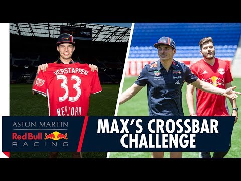 Max Verstappen's crossbar challenge! | Raising funds for Wings for Life with Citrix