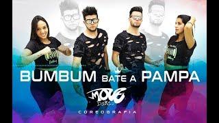 BumBum Bate a Pampa - Move Dance Brasil - Coreografia - MC WM, MC Leléto e MCs Jhowzinho e Kadinho -