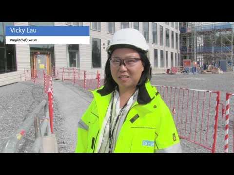 Ny- och ombyggnation av operation och röntgen i Huddinge – september 2018