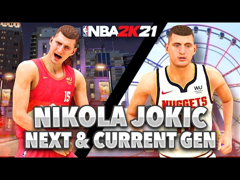BEST NIKOLA JOKIC BUILD ON NBA 2K21 NEXT GEN AND CURRENT GEN!