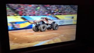 Monster jam Monster Mutt Junkyard Dog Freestyle Atlanta Ga FS1 championship series