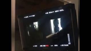 """Maite Perroni & Cali y El Dandee - Grabando de videoclip """"Loca"""" 5/19"""