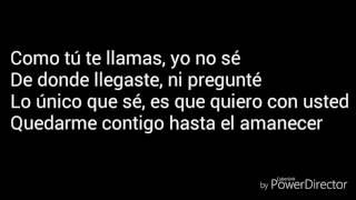 Hasta El Amanecer - Nicky Jam testo