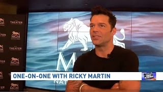 (INTERVIEW) Ricky Martin in Washington | ALLin | One On One