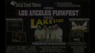 Los Angeles Funk Fest 2015 featuring Lakeside with Mark Wood Jr.