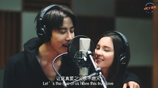 【ENG&CHN SUB】Aom&Mike : Kiss Me Ost.Kiss Me (Itazura na kiss Thai Version)