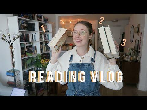 READING VLOG: 3 Books over 3 Days!!