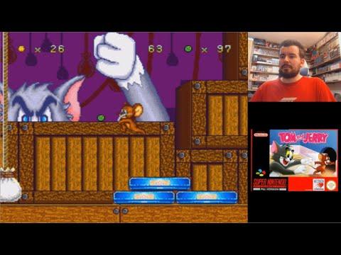 TOM & JERRY (Super Nintendo) - Gameplay en Español || MORRALLA CLÁSICA