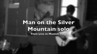 Rainbow - Man on the Silver Mountain live in Munich '77