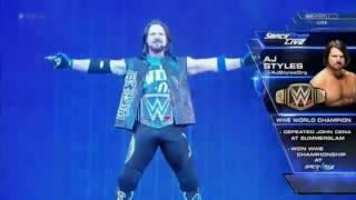 WWE/TNA AJ Styles Entrance (Phenomenal/Get Ready to Fly Themes)