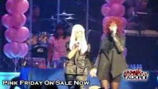 Nicki Minaj Feat Rihanna - Fly (Live) 2010
