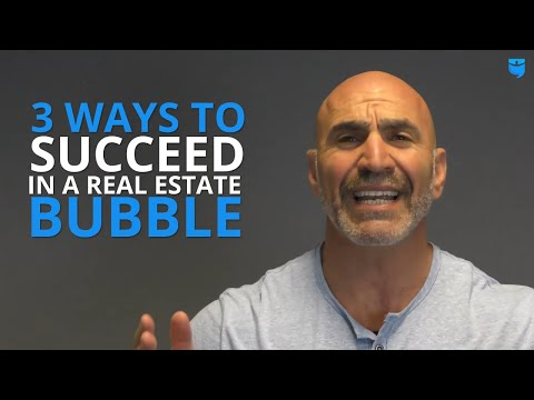 3 Ways to Succeed in a Real Estate Bubble with Steve Rozenberg