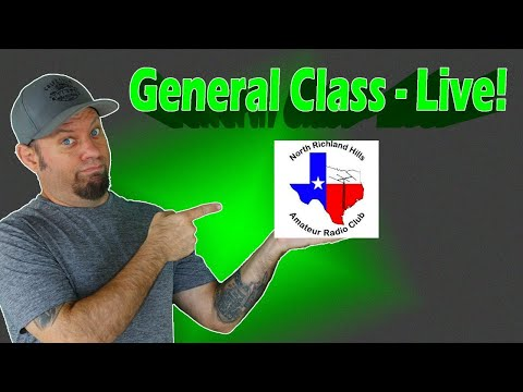 Ham Radio General Class License Course Livestream, Part 4 - Get Your Upgrade!