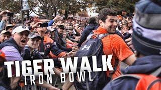 Follow Jarrett Stidham and Kerryon Johnson through the most epic Tiger Walk of 2017