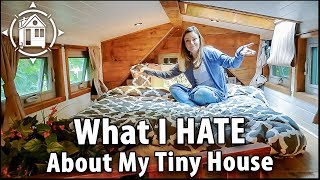 Living in a Tiny House Stinks (Sometimes) width=