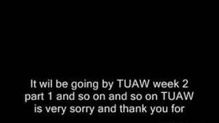TUAW Announcement