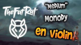 TheFatRat - Monody en Violín|How to Play,Tutorial,Tab,sheet music,Como Tocar|Manukesman