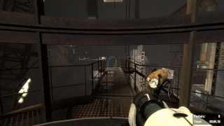 Portal 2 | Custom Maps + Propulsion Flings 16.15s