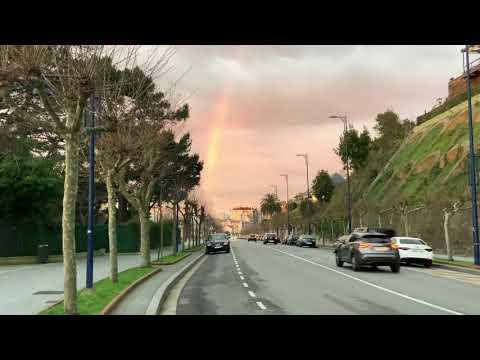 Un arco iris para alegrar la mañana