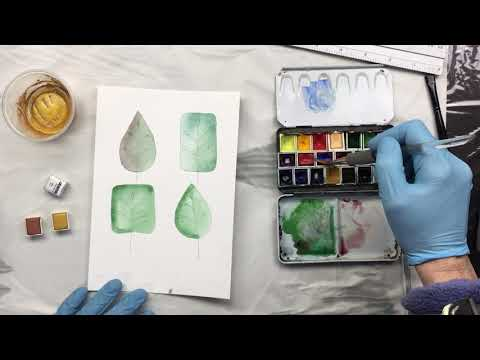 ( 985 ) My metalic water colour and a few tips