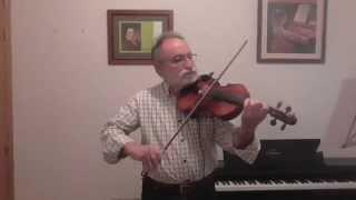Olas del Danubio (cover).  Joaquín al violín.