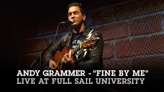 """Andy Grammer """"Fine By Me"""" Live at Full Sail University"""