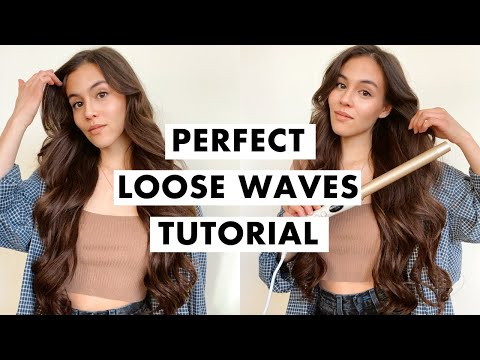 How to Curl Your Hair | Loose Waves