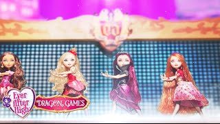 Power Princess Shining Bright Stop Motion Video | Dragon Games | Ever After High