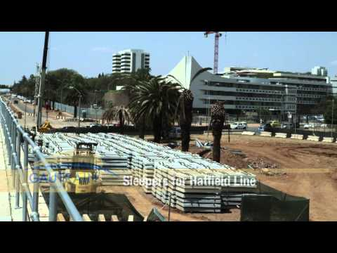 Pretoria to Hatfield Construction – November 2010