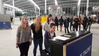 Brennan Heart - Imaginary live @Utrecht Centraal
