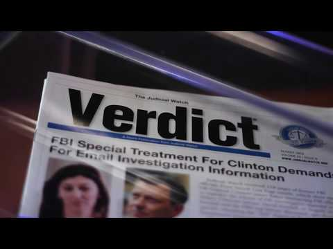 The Verdict | Judicial Watch