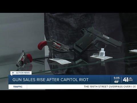 Gun sales rise after Capitol riot