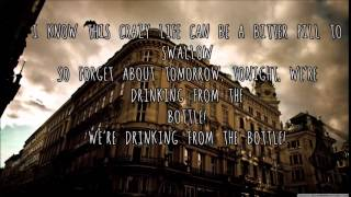 CALVIN HARRIS- Drinking from the bottle Lyrics