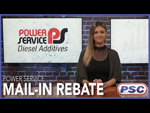 power service rebate