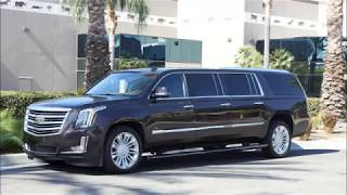 2017 Cadillac Escalade Platinum Edition Six Door Limo Limousine by Quality Coachworks