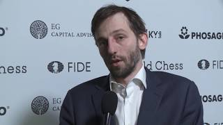Round 14. Interview with Alexander Grischuk