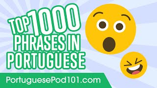Top 1000 Most Useful Phrases in Portuguese