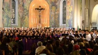 Luiza Spiridon & Corul Liceului Stefan Demetrescu - Fulgii de zapada (LIVE)