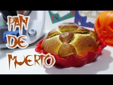 Pan de Muerto Thermomix | Hojaldra | Receta mexicana