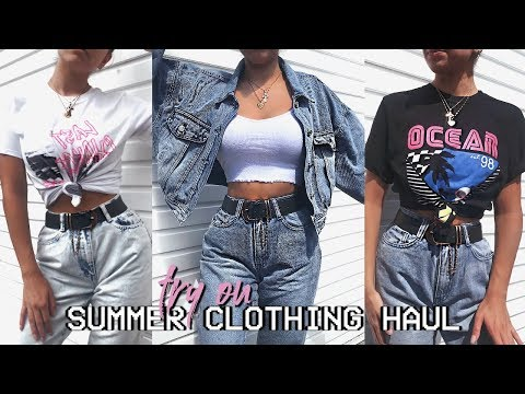 HUGE SUMMER TRY ON CLOTHING HAUL 2019  - MISSGUIDED! AD