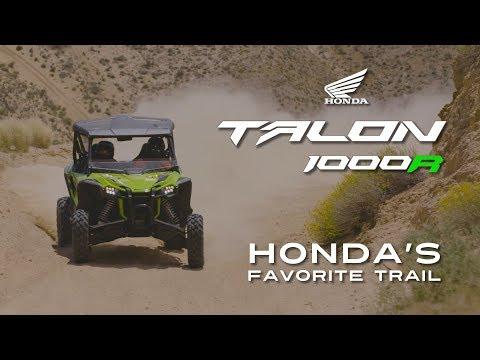 2019 Honda Talon - Honda's Favorite Trail - Jawbone Canyon - Sponsored