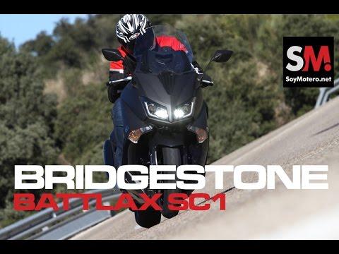 Bridgestone Battlax SC1 2016: Prueba Neumático